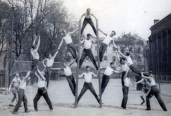 Znalezione obrazy dla zapytania historia gimnastyki sportowej
